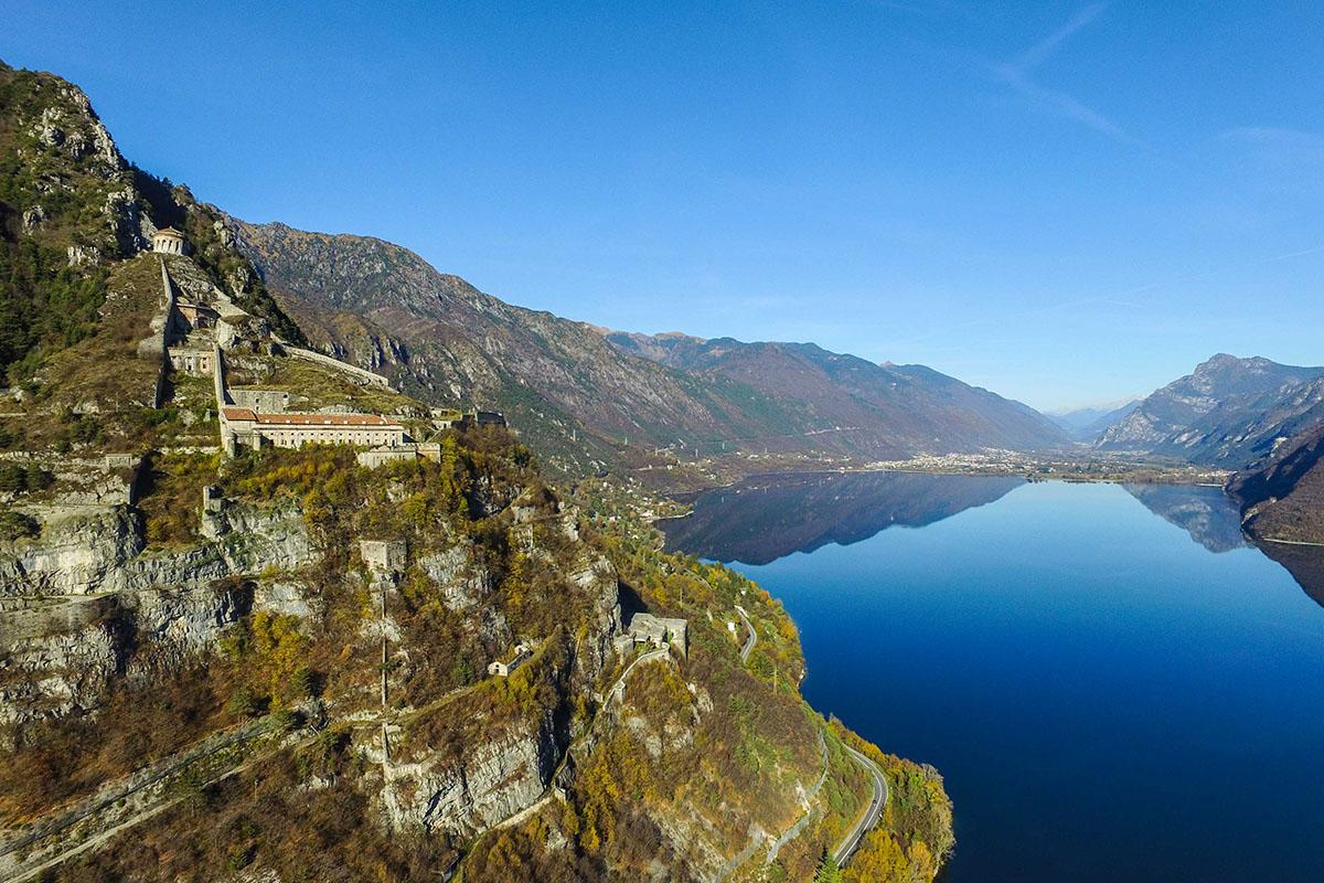 Fotografia Aerea Lago d'Idro dal Drone