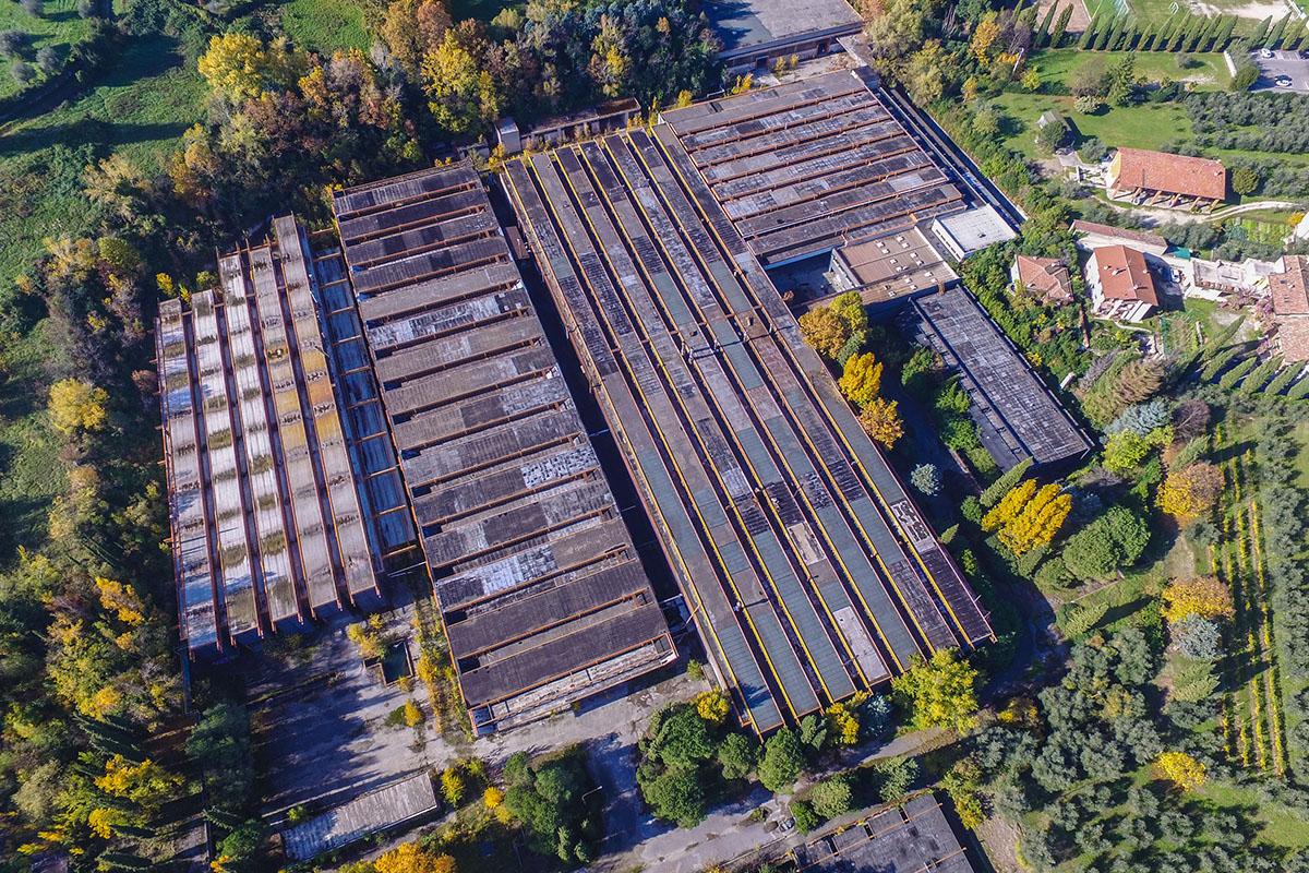 Fotografia Industriali con Drone