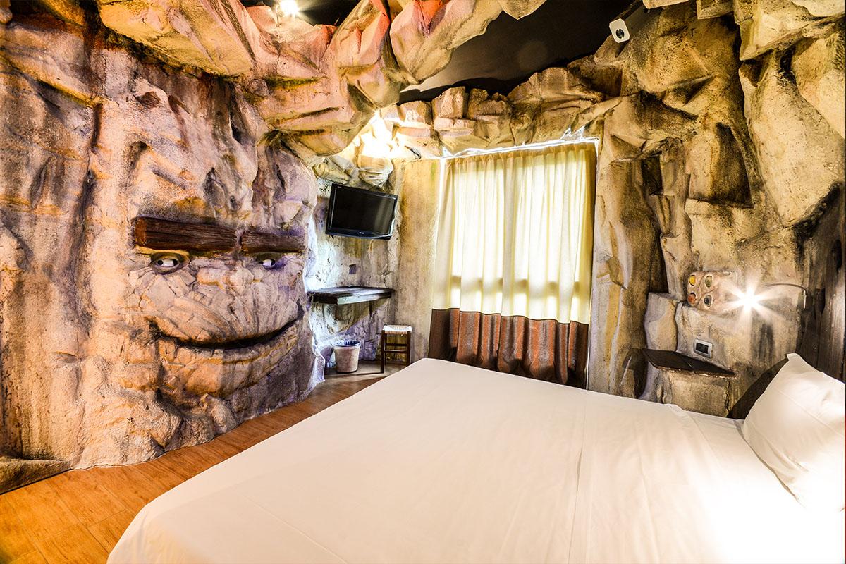 Fotografie di interni per Hotel, camera a tema